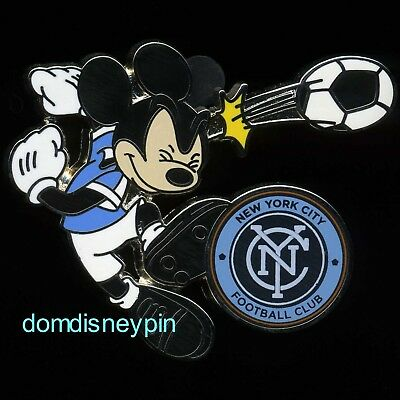 Disney Orlando City FC Mickey Mouse MLS Soccer Pin