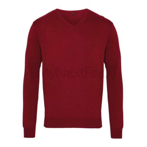 Premier Workwear V-Neck Knitted Sweater
