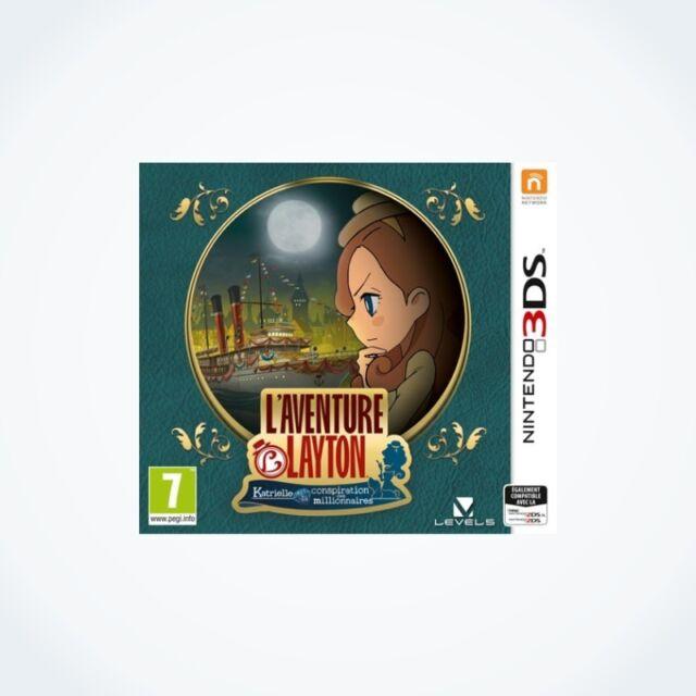 L'AVENTURE LAYTON Katrielle et la conspiration des millionnaires 3DS / Neuf / VF