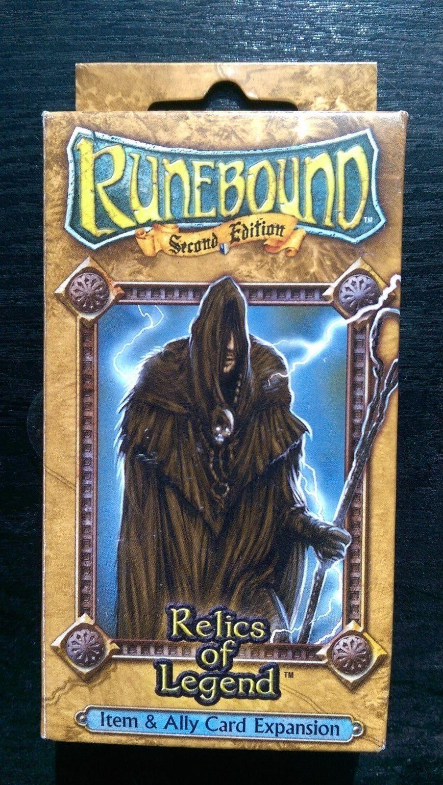 Runebound 2nd EDIZIONE reliquie di articolo Leggenda & Ally carte