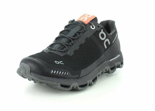 best loved de410 28f17 ON Womens Cloudventure Waterproof Trail Running Shoes Trainers Black