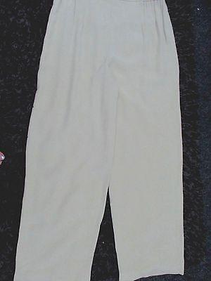 """""""alexon"""" Donna Verde Pallido Stile Baggy Pantaloni Taglia 16-"""