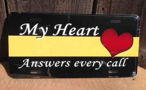 My Heart Answers Every Call Wholesale Metal Novelty License Plate