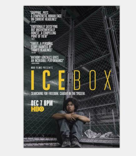 G-472 Icebox Fabric Poster 2018 Daniel Sawka  Genesis Rodriguez 20x30 24x36
