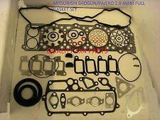 Mitsubishi Shogun Pajero MONTERO CANTER 2.8 4M40 COMPLETE & HEAD GASKET SET 93+