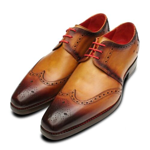 Brogue Diamond Jeffery Shoes Mens Patina Tan West Fft0na