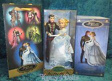 Disney Designer Fairytale Collection Doll Princess Cinderella & Prince Charming