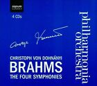 Brahms: The Four Symphonies (CD, Feb-2012, 4 Discs, Signum Classics)