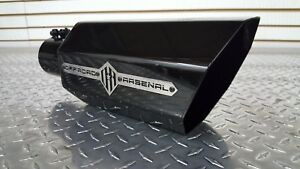 """OFFROAD ARSENAL 5/"""" INLET 10/"""" OUTLET 18/"""" OCTAGON POLISHED EXHAUST TIP DIESEL T"""