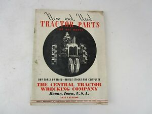 1943-Central-Tractor-Wrecking-Company-Boone-Iowa-Parts-Catalog