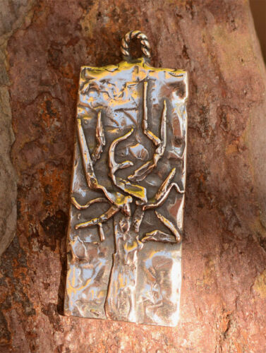 Be Strong Tree in Sterling Silver CH-598 Beautiful Artisan Tree