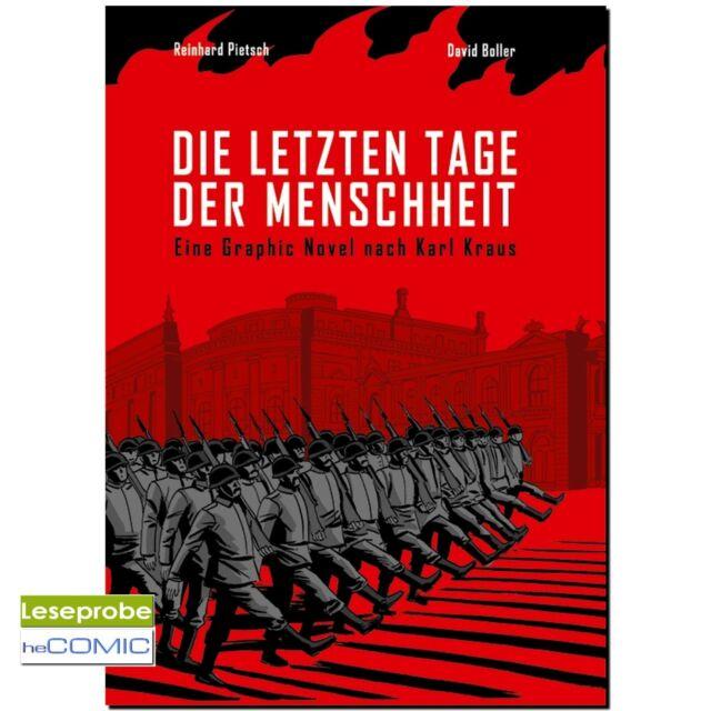 Die letzten Tage der Menschheit Karl Kraus 9783831643721 LP 10er Graphic Novel