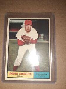 1961-Topps-20-Robin-Roberts-PHILADELPHIA-PHILLIES-vintage-BASEBALL