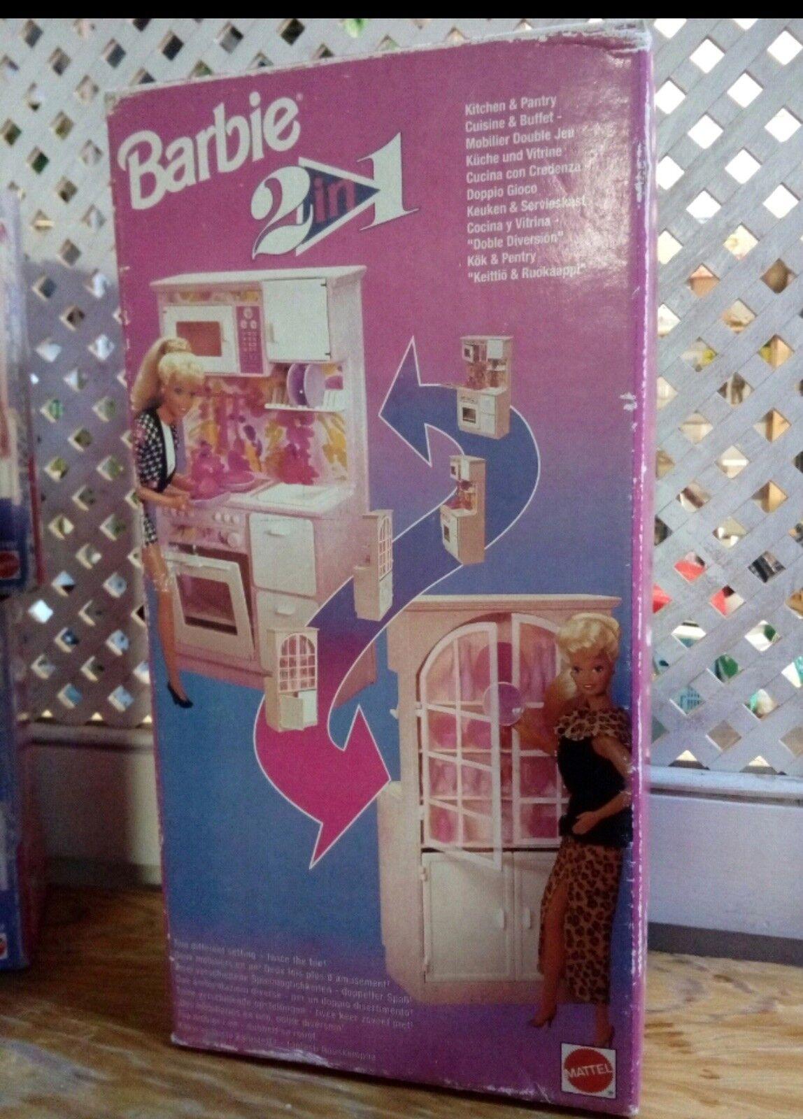 Barbie 2 in 1 Kitchen Cocina