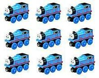 10 THOMAS Tank Engine Wooden Train BIRTHDAY FAVOR LOT NEW Railway