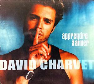 David-Charvet-CD-Single-Apprendre-A-Aimer-Cardboard-Gatefold-Promo