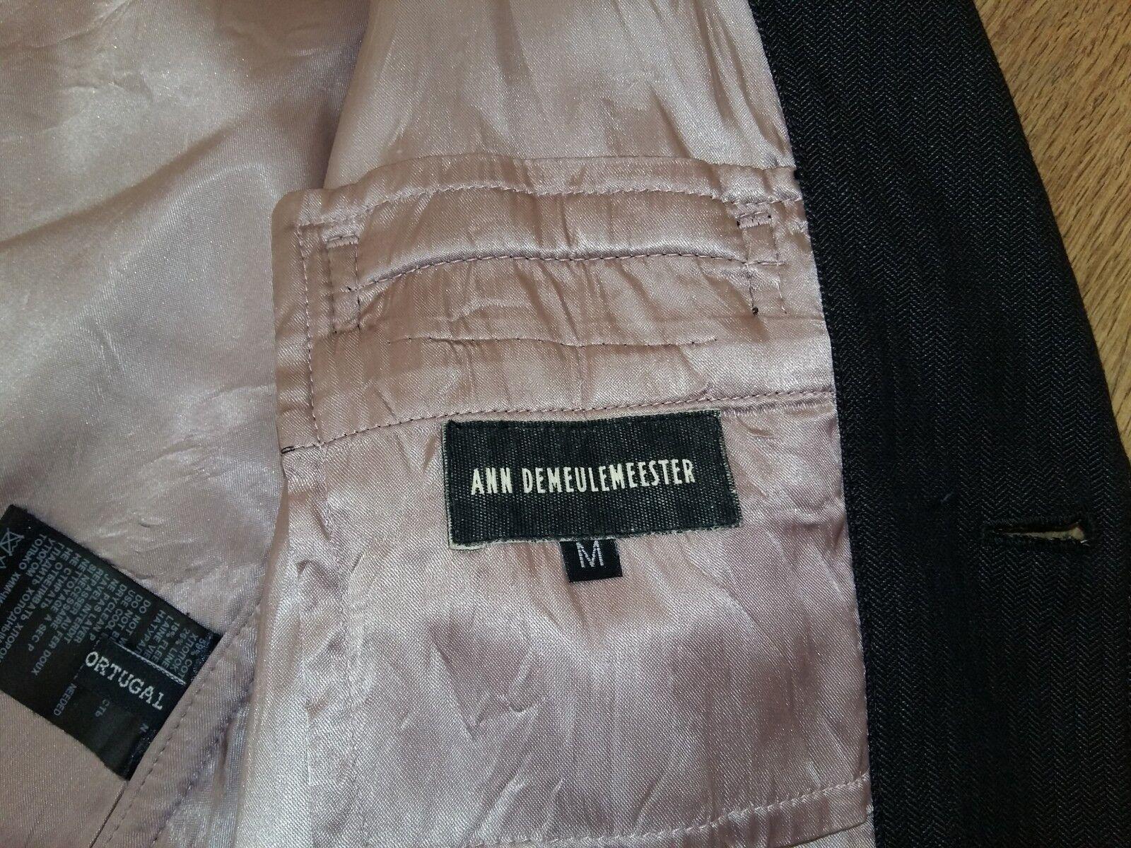 ANN DEMEULEMEESTER rare mens luxury blazer Größe M