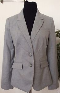 Nice Nwt The Limited Collection Wmns Gray Polyester Blend Blazer Suit Sz 8 Ret.$158