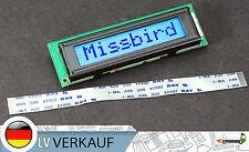 MINI 801 8x1Zeichen LCD Display blaues BL HD44780-Komp für Arduino Raspberry Pi