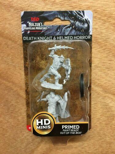 Death Knight /& capeggiato dell/'Orrore-D/&D Wizkids nolzurs Marvelous Miniatures
