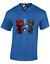 Bad-Little-Kitty-T-shirt-homme-Deadpool-Noir-Drole-Panther-Wade-Blague-Couleur miniature 11