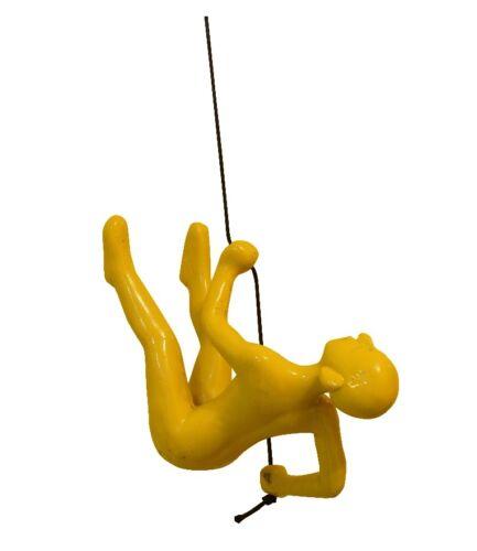 New YELLOW 1 Climbing man wall art BIG home decor Exclusive Buy 4 Get 1 Free