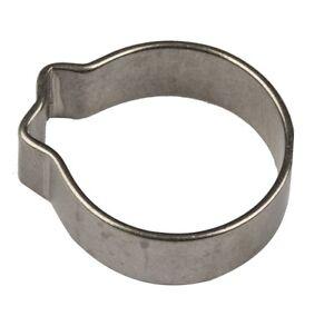 Clip-De-Acero-Inoxidable-304-aire-combustible-agua-10-12-mm-Abrazadera-de-una-oreja