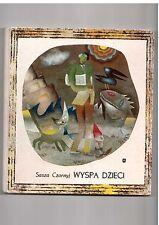Sasza Czornyj Wyspa dzieci il A Boratyński 1967  Polisch book for children