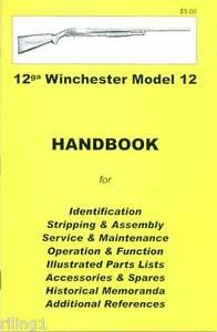 winchester model 12 assembly disassembly owner s manual rh ebay com winchester model 59 12 gauge owner's manual Winchester Model 270 Disassembly