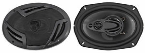 Pair-Rockville-RV69-4A-6x9-034-4-Way-Car-Speakers-1000-Watts-220w-RMS-CEA-Rated