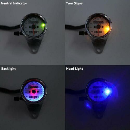 LED Indicator Speedometer For Harley Davidson XL Sportster 1200 883 Custom
