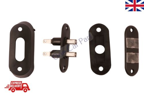 Black Sliding Door Contact Switch For Car Alarm Van Central Locking Systems