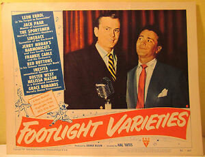 Footlight-Varieties-039-51-Jack-Paar-Leon-Errol-Liberace-Lobby-Card