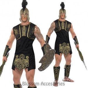 CL236-Achilles-Roman-Gladiator-Soldier-Greek-God-Mens-Fancy-Dress-Costume-Outfit