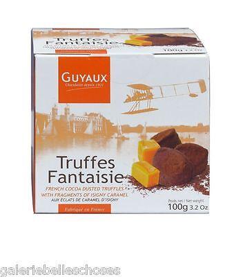 100g Guyaux Truffes Fantaisie Caramel Trüffel Konfekt Praline Schokolade Kakao