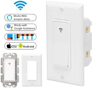 Smart-Life-Remote-Control-Wall-Touch-WiFi-Switch-For-Amazon-alexa-Google-home