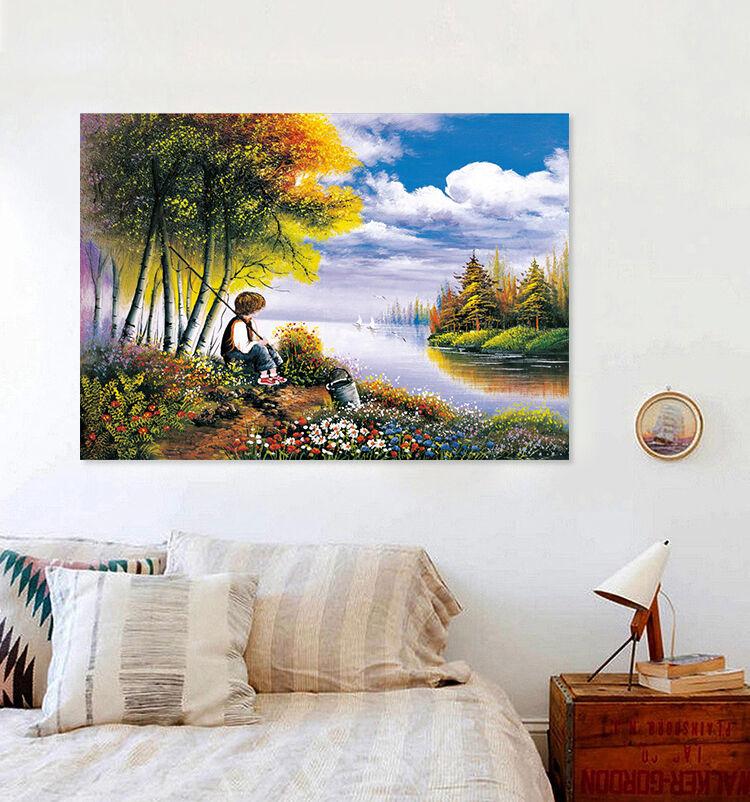 3D Fluss Teenager Fototapeten Wandbild Fototapete BildTapete Familie AJSTORE DE
