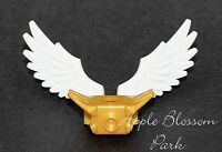 Lego Chima Minifig White Wings W/gold Minifigure Shoulder Pads - Bird/angel