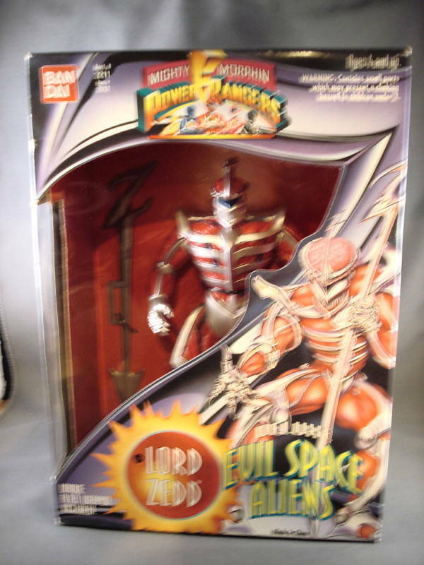 Power Rangers Lord Zedd Deluxe Evil Space Aliens
