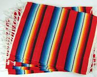 239 Placemat Sarape Wholesale 13x19 Reversible Mexico Fiesta Party Four Set
