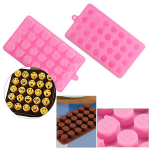 1pcs-10pcs-DIY-Silicone-Mould-Mold-Chocolate-Candy-Gummy-Maker-Ice-Tray-Pink