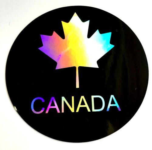"Canada 3.5/"" Sticker Decal Car 3D Laptop Bike tablet Truck Flag Maple leaf suv"
