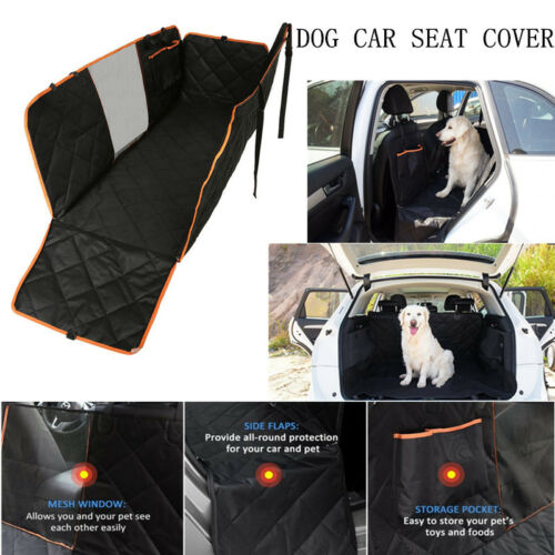 Heavy Duty Car Dog Seat Cover Pet Back Protector Travel Hammock Mat Boot Liner