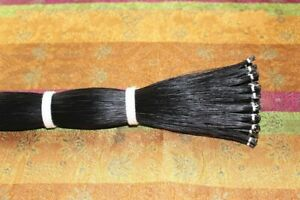20-hanks-violin-viola-cello-Mongolia-natural-black-bow-hair-horse-tail-80-85-cm