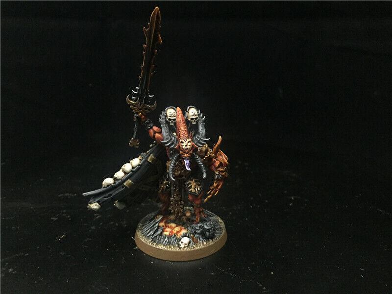 25mm Warhammer Age of Sigmar DPS Painted Warriors of Chaos Skulltaker AP7080