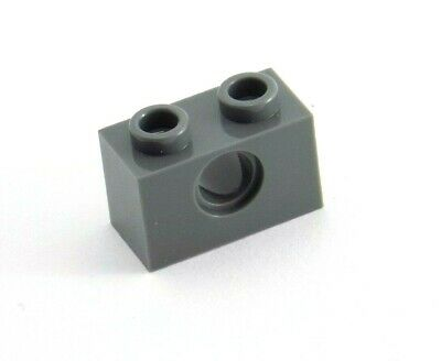 1 x 2 pin long with 1 x Axle Hole Lego Technic 15 x RED Brick