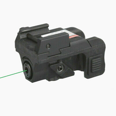 Low Profile Green Laser Sight for Sub-compact Pistols w//USB Rechargeable Battery