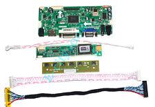HDMI+DVI+VGA LCD Controller DIY 1920x1200 Logic Board AD Converter LVDS xBox PC