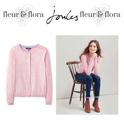Joules Skye CardiganLadiesPale PinkFree P/&PRRP £44.95