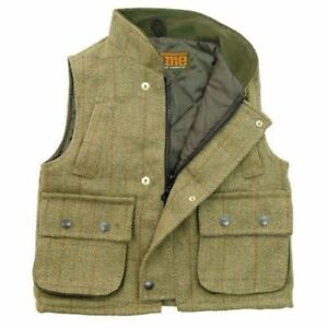 Percussion Kid/'s Tradition Gilet Waistcoat Junior/'s Children/'s Hunting//Shooting